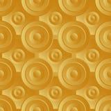 Bez końca raster złoto Obraz Royalty Free