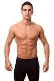 Bez koszuli sportowy Mężczyzna Zdjęcie Stock
