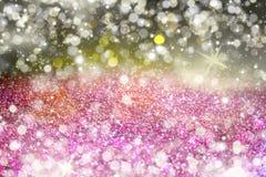 Bez textured błyskotliwości tło Błyszczący sparkly tło ilustracja wektor