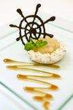 Beza jabłczany deser Obrazy Royalty Free