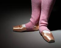 Bezahlt vom Balletttänzer Stockfotografie
