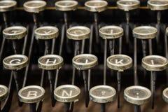 Bezaubern, elegante alte Schreibmaschine benutzt von den Dichtern und Philosophen lizenzfreies stockbild