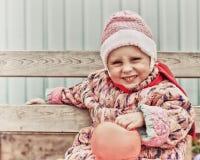 Bezaubern nicht glückliches über Kind lizenzfreie stockfotografie