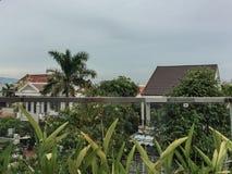 Bezaubernde Ansicht des Morgens in Vietnam Lizenzfreies Stockbild