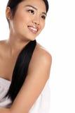Bezaubernde junge asiatische Frau Lizenzfreie Stockfotos