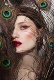 Bezauberndes Porträt der jungen Schönheit lizenzfreies stockbild