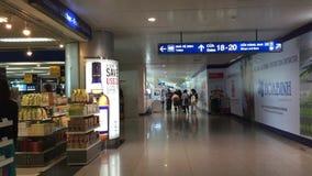 Bezcłowi sklepy przy Dębnym syna Nhat lotniskiem, Wietnam zbiory wideo