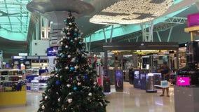 bezcłowi sklepy przy KLIA lotniskiem w Kuala Lumpur, Malezja zdjęcie wideo