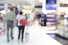 Bezcłowy sklep w lotnisku zdjęcia royalty free