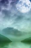 bezdenności zieleń Obrazy Stock