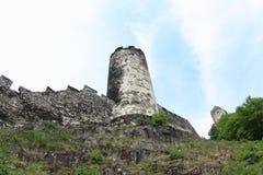 Bezdez城堡 免版税库存图片