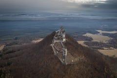城堡Bezdez在捷克 免版税库存图片