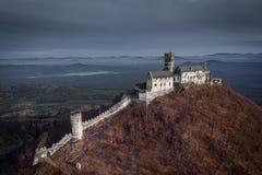 城堡Bezdez在捷克 免版税图库摄影