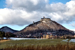 Bezdez castle Royalty Free Stock Photography