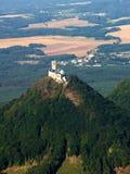 Bezdez castle - air photo Royalty Free Stock Photos