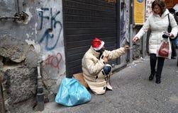 Bezdomna dobroczynność zdjęcie stock