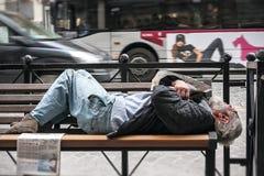 bezdomny Obrazy Stock