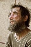 bezdomny depresja mężczyzna Obraz Royalty Free