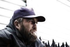 bezdomny mężczyzna Obrazy Stock