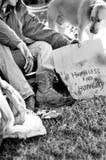 bezdomny mężczyzna Obraz Stock