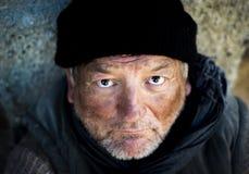 Bezdomny mężczyzna zdjęcia stock