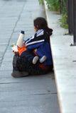 bezdomny v Zdjęcie Stock