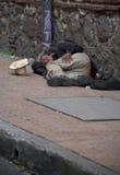 Bezdomny w Bogota Obrazy Royalty Free
