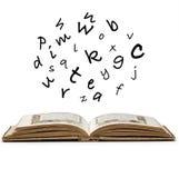 Bezeichnet Mystiker mit Buchstaben. Stockfoto