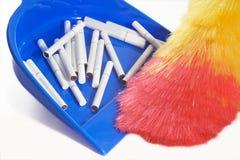 Bezem van de lepelsigaretten van de hygiëne de schoonmakende Stock Fotografie