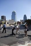Bezet Austin - Oktober 15 Protest Maart Royalty-vrije Stock Fotografie