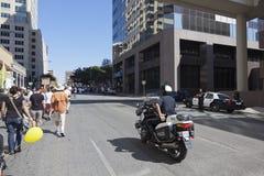 Bezet Austin - Oktober 15 Protest Maart Stock Foto's