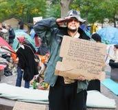 Bezet de Protesteerders van Wall Street Stock Afbeelding