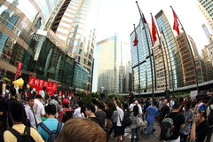 Bezet Hongkong stock foto's
