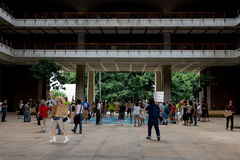 Bezet Honolulu protest-1 Royalty-vrije Stock Foto