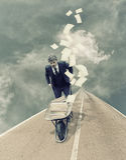 Bezette zakenman stock afbeelding
