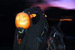 Bezgłowy jeździec Jedzie Znowu Fotografia Stock