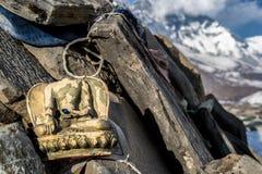 Bezgłowa Buddha figurka w Everest regionie Fotografia Stock