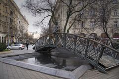 Bezienswaardigheden Boedapest royalty-vrije stock afbeeldingen