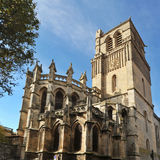 Beziers cathedral Royalty Free Stock Images