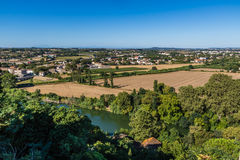 Beziers Landscape, France Stock Photo