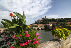 Beziers (Languedoc-Roussillon, France) Royalty Free Stock Photos