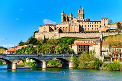 Beziers town. France Stock Photography