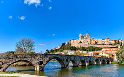 Beziers town, France Royalty Free Stock Photography