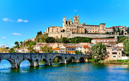 Beziers town. France Royalty Free Stock Image