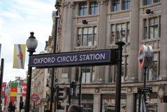 Bezig Londen Stock Fotografie