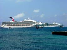 Bezige Caymaneilanden Stock Afbeelding