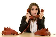 Bezige hotline Royalty-vrije Stock Afbeeldingen