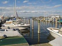 Bezige Jachthaven Royalty-vrije Stock Foto
