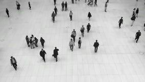 Bezige mensen stock video