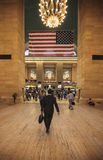 Bezige middag bij aan Grand Central, NYC Stock Afbeelding
